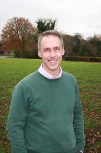 DIO Director of Business Partnering Dr David Marsh
