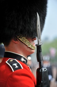 The Welsh Guards also perform ceremonial duties.  (Photo by Cpl Steve Blake; Crown Copyright)