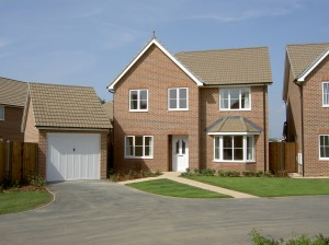 New-build Service family home at Lee-on-the-Solent near Portsmouth (Crown Copyright)
