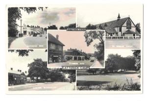 A Catterick Garrison postcard c.1964.