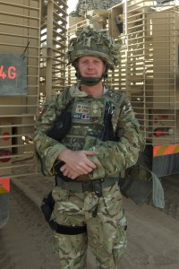 Lt Col Jon on operations in Afghanistan. (Copyright)