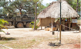 British Army Training Unit in Belize. (Crown Copyright)