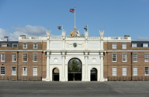 The famous frontage of Woolwich Barracks, home of the Royal Artillery and site of Jon's first job as a DIO Project Manager. (Sgt Adrian Harlan, Crown Copyright)