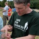 Richard Osgood on Operation Nightingale in 2013. [Crown Copyright/MOD2013]