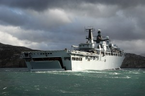 Albion Class Assault Ship HMS Bulwark