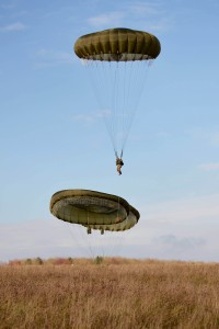 Merville Barracks is the home of 16 Air Assault Brigage. Here, Paratroopers of C Company, 3rd Battalion The Parachute Regiment, part of 16 Air Assault Brigage, train during Exercise Wessex Storm on Salisbury Plain. [Crown Copyright /MOD2014]