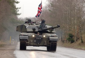 The estate being returned to the German authorities includes training areas. [Crown Copyright/MOD2003]