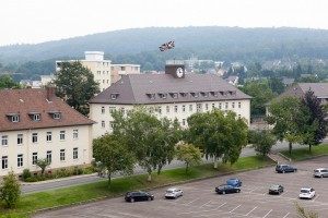 Gordon Barracks, Hameln Garrison, Germany - Regimental HQ and Officers' Mess [Crown Copyright]