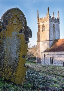 St Giles' Church, Imber. (Crown Copyright)
