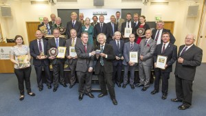 Pictured: All the award winners and runners up.