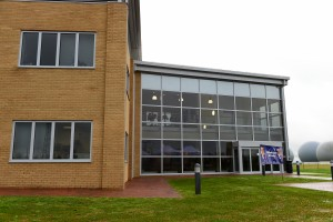 The new medical and dental clinic at RAF Croughton. [Copyright US Air Force]