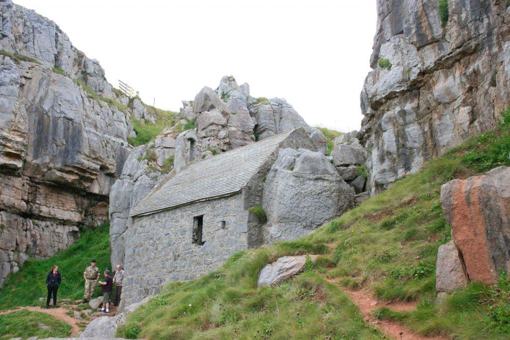 St Govan's Chapel [Crown Copyright/MOD2016]