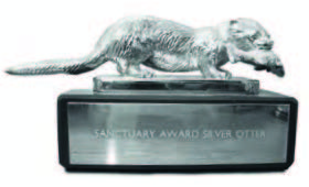 The Silver Otter, given to the overall winner. [Crown Copyright/MOD2016]