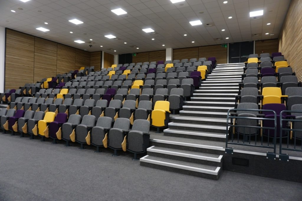 The large lecture theatre in the new college building