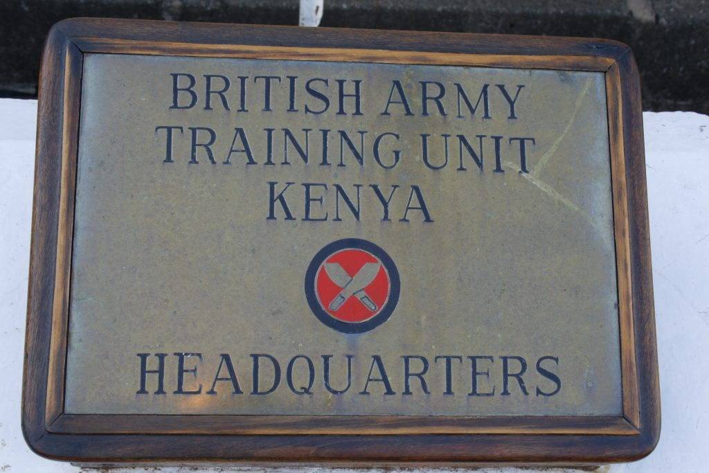 BATUK is the British Army Training Unit Kenya. [Crown Copyright/MOD 2015]