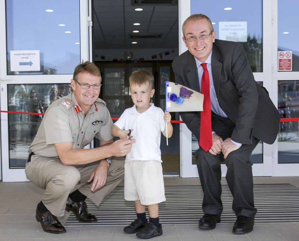 Commander British Forces Opens Nursery at RAF Akrotiri [MOD 2017]