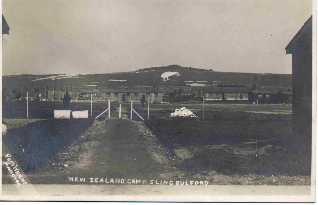Postcard of Bulford Kiwi [Richard Osgood]