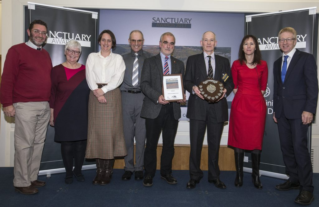 Foxglove Covert team at 2017 Sanctuary Awards [Crown Copyright, MOD 2017]
