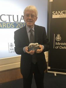Roy Canham, Sanctuary Silver Otter Winner 2017 [Crown Copyright, MOD 2017]