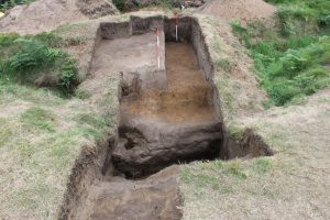 Ballykinler trench excavations [Crown Copyright, MOD 2017]