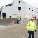 David Bailey at the new District Power Station. [Crown Copyright/MOD 2017]
