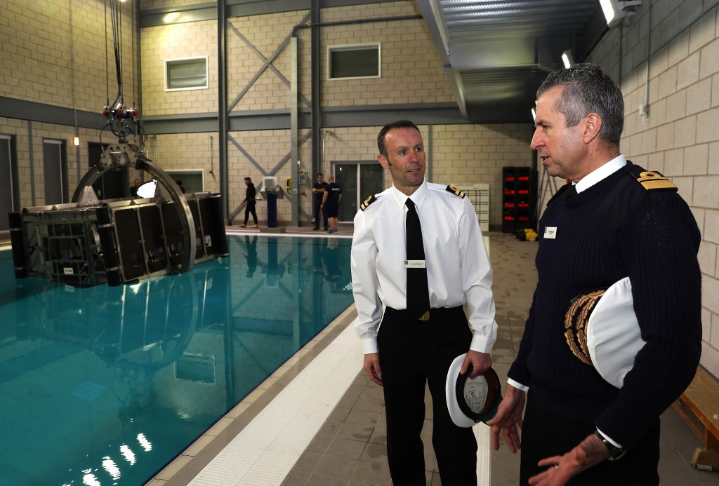 Opening of new Dunker facility [Crown Copyright, MOD 2018]