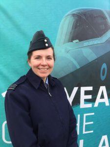 RAF Squadron Leader Sarah Brewin [Crown Copyright, MOD 2018]