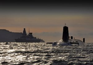 Nuclear Submarine HMS Vanguard [Crown Copyright, MOD]
