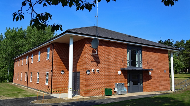Single Living Accommodation at Larkhill. [Aspire Defence]