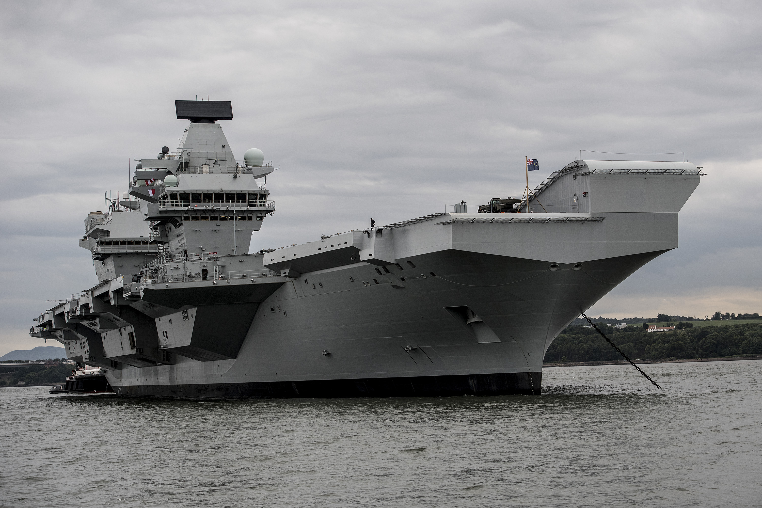 Job Done: Dredging Complete for Aircraft Carriers - Inside DIO
